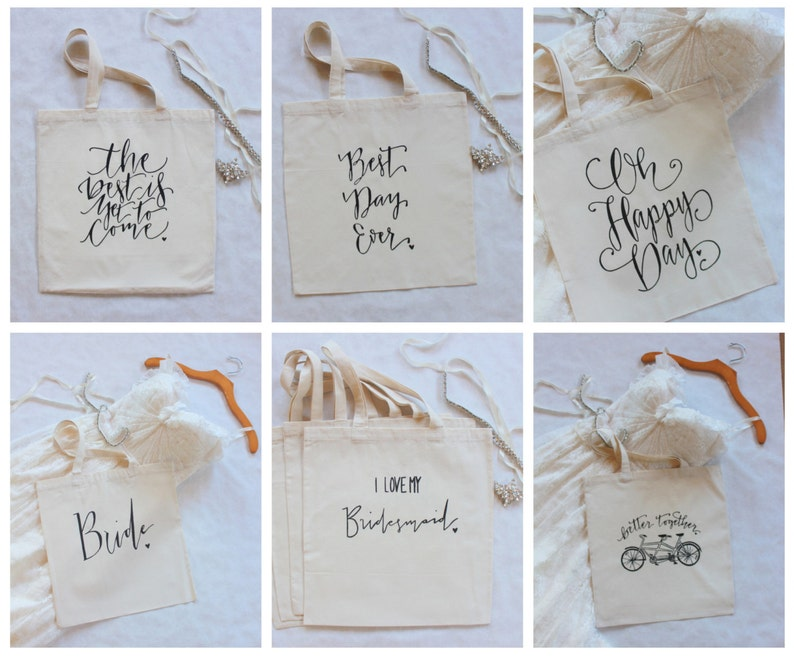 Bulk Tote Bag Order for Wedding Welcome Gifts  Set of 50 image 0