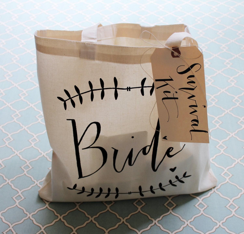 Wedding Day Survival Kit DIY Bridal Shower Gift