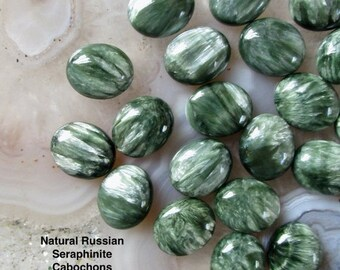 10-11MM  SERAPHINITE GEMSTONE NUGGET PEBBLE LOOSE BEADS 15.5/""