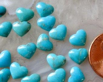 20pcs Mermaid Heart Cabochon Gems Valentines Craft Scrapbooking Embellishments