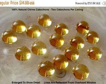 Citrine Natural Citrine Cabochon Loose Gemstone Citrine  Round Mix Shape Lot Cabochon For Multi Jewelry Making Gemstone 9 Pcs Lot # 106