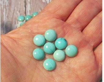 1 DRUZY OVAL CABOCHON Robins Egg Blue Gemstone 20x15mm Cab0551