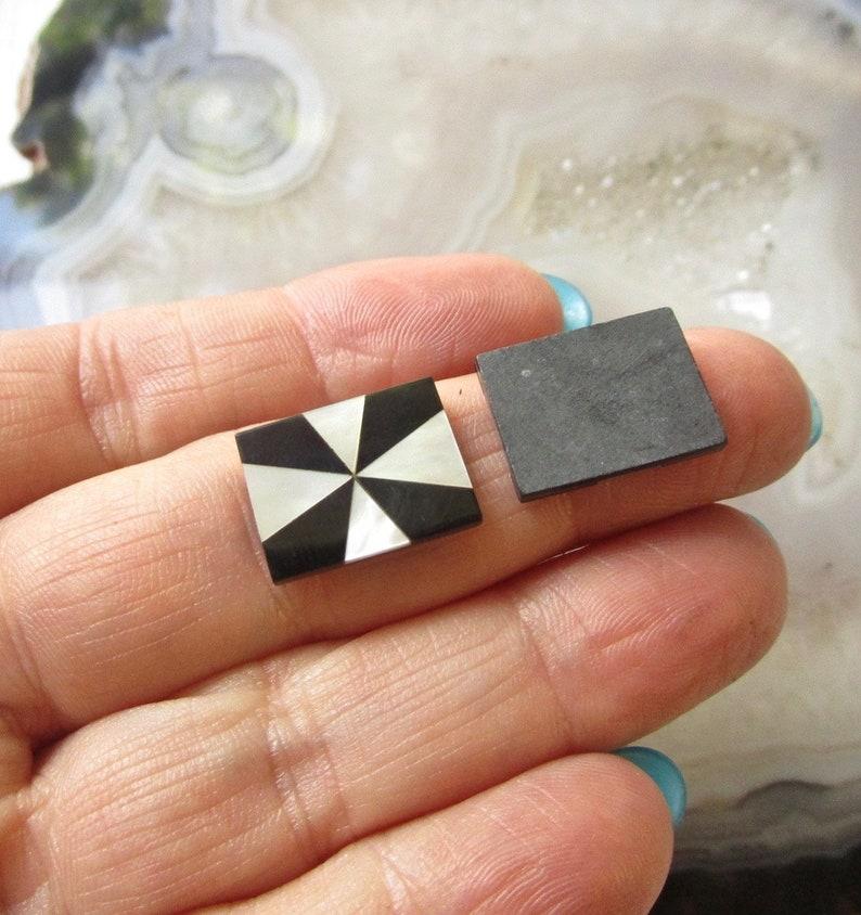 Natural Gemstone Intarsia Kumihimo Pendant