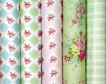 Rosey by Tanya Whelan, quilting cotton pack, fabric set - 5 fat quarters