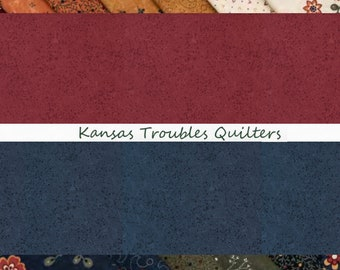 """108"""" Kansas Troubles Quilt Backing by Kansas Troubles Quilters Moda Basics - Cotton Fabric"""