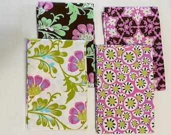 Amy Butler - Daisy Chain Quilting cotton fabric set bundle - 4 Fat Quarters