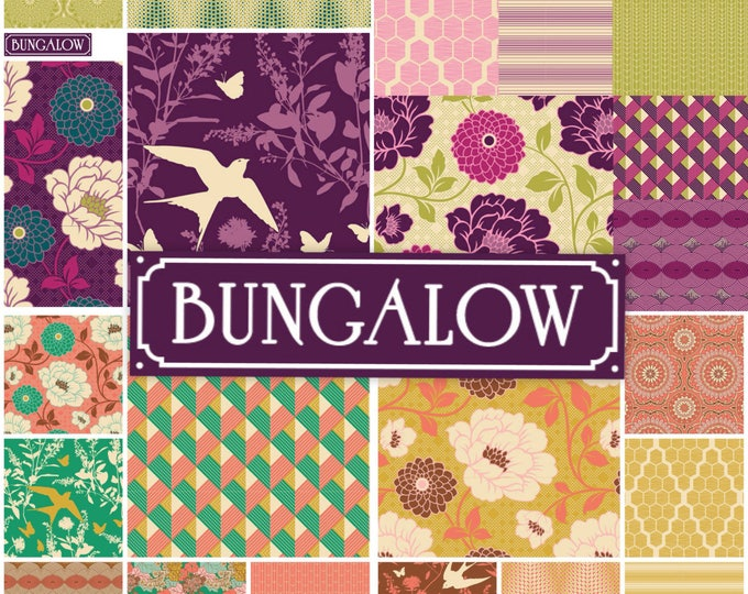 22 fat quarters - Joel Dewberry Bungalow fabric bundle set