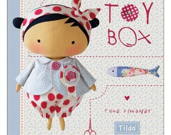 Tilda's Toy Box Tone Finnanger - children's toy pattern book