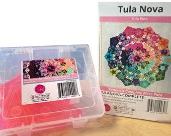 Tula Pink Nova Complete Paper Piece & Pattern Pack + Acrylic Template Set