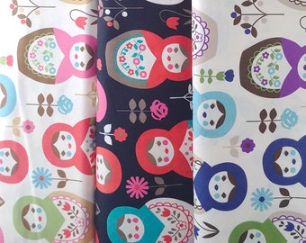 Large Matryoshka K20 - Japanese Cotton Fabric - select color and length