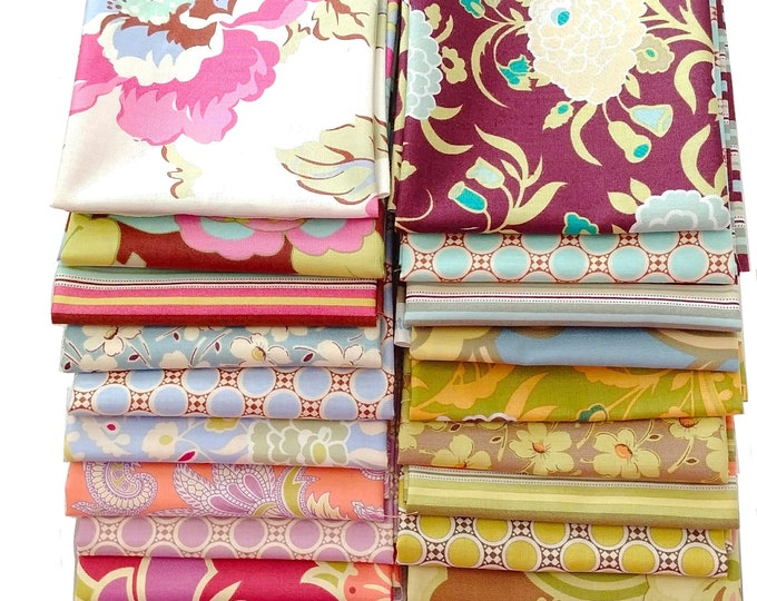 Amy Butler GYPSY CARAVAN Fat Quarter set of 18