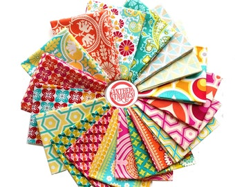 Notting Hill by Joel Dewberry - quilting cotton fabric bundle - 19 fat quarters