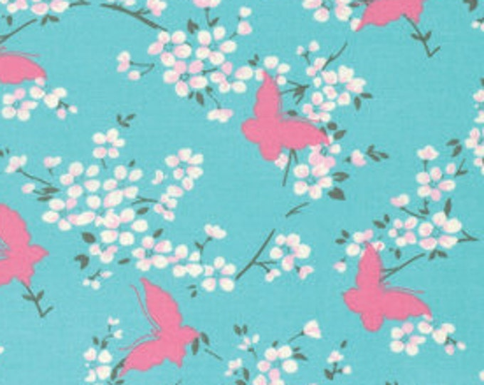 SALE Chloe by Tanya Whelan - Butterfly TW100 SKY blue - select a length