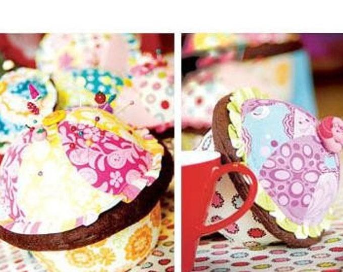 Portabellopixie Boutique pattern by Sandi Henderson - Cupcake Pincushion