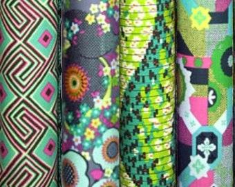Amy Butler GLOW cotton fabric bundle - fat quarter set of 4