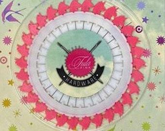 "Tula Pink Unicorn Head Pins  2"", 30ct"