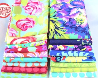 LOVE by Amy Butler - Fat quarter set of  17 pieces fabric bundle