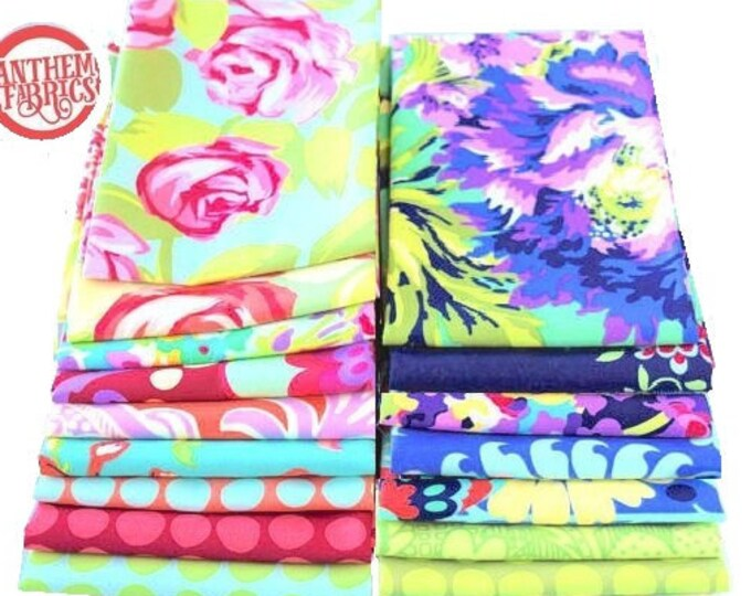 LOVE by Amy Butler - Fat quarter set of  16 pieces fabric bundle
