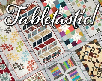 Tabletastic by Doug Leko -  20 patterns, table runners table toppers - soft cover pattern book