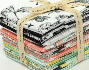 Sew Charming fabric by Riley Blake - 20 fat quarters quilting cotton - Bundle set