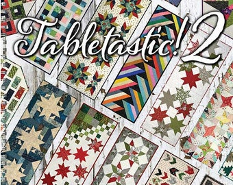 Tabletastic 2 by Doug Leko -  20 patterns, table runners table toppers - soft cover pattern book