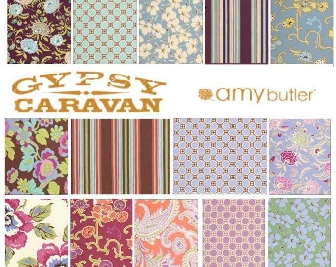 Amy Butler GYPSY CARAVAN Fat Quarter set of 19