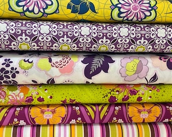 Art Gallery Fabric -  Sweet Melody bundle, 6 fat quarters