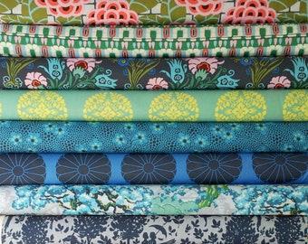 Cameo Amy Butler fabric bundle -  Enchanted palette - Fat quarter set of 11