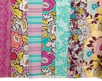 Bespoken Fat quarters - bundle of 7, Art Gallery Fabrics