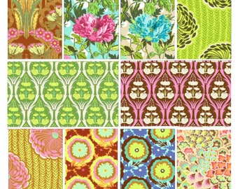 Soul Blossoms by Amy Butler - Fat quarter bundle of 10