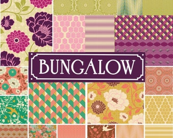 20 fat quarters - Joel Dewberry Bungalow fabric bundle set