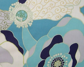 Alexander Henry Blakely in Pool Blue ( AH8068B) - Fashionista Fabric Collection - select length