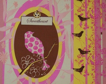 Fairy Tip Toes fabric by Tina Givens- Ella Panel TG59 Yellow - 1 yard