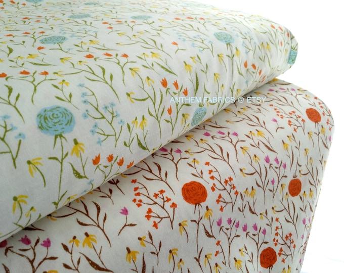 Far Far Away Cotton Fabric by Heather Ross, Clover - fat quarter set of 2