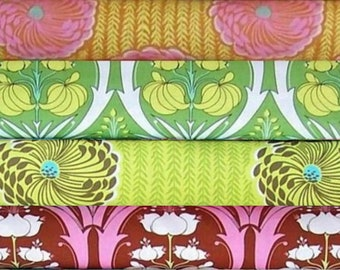Amy Butler fabric bundle Soul Blossoms - 4 Fat quarters