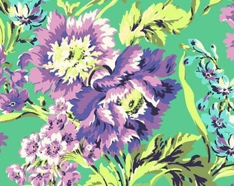 Amy Butler - LOVE - Bliss Bouquet AB 50 Emerald - 1 yard