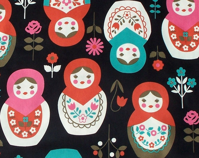 Matryoshka K20E40L - Cotton fabric - select a length