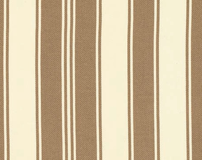 HOME DECOR Petal by Tanya Whelan - French Stripe HDTW057 Taupe - 1 yard
