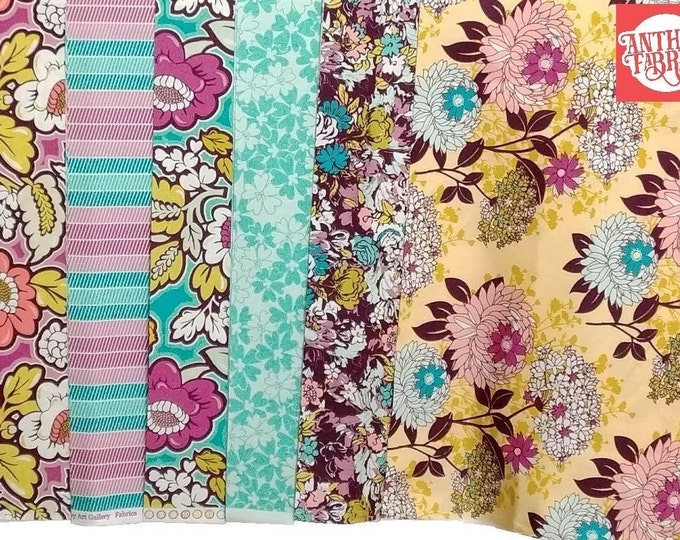 SALE Bespoken - by the yard, Patricia Bravo for Art Gallery Fabrics