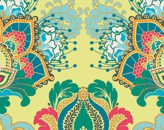 1 yard, Art Gallery - Rhapsodia - Artisan RHA500 Emerald