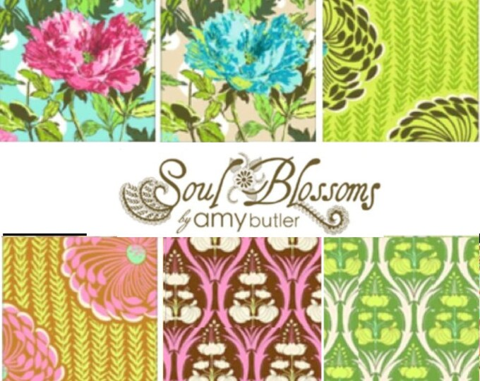 Soul Blossoms by Amy Butler - Fat quarter bundle of 6