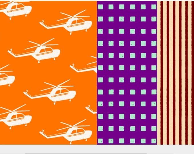ECHINO Nico Etsuko Furuya,  Helicopter EF301A Orange, 1/2 yard