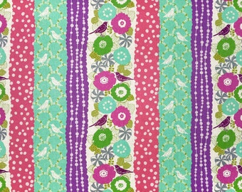 Echino by Etsuko Furuya - Cotton Linen Fabric - Peck EF701-D Purple Teal, 1 yard