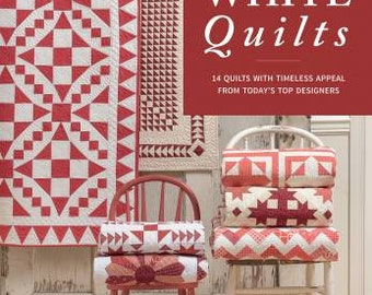 Red and White Quilts book