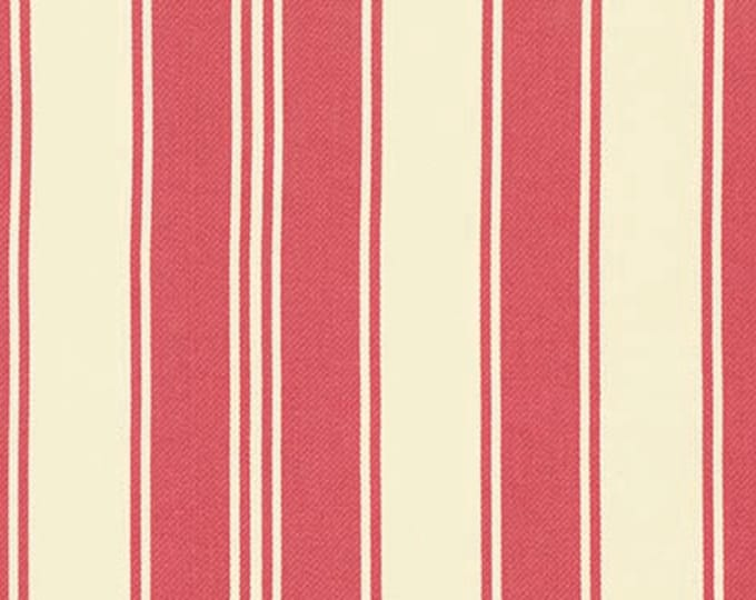 HOME DECOR Petal by Tanya Whelan - French Stripe HDTW057 Rose - by the yard