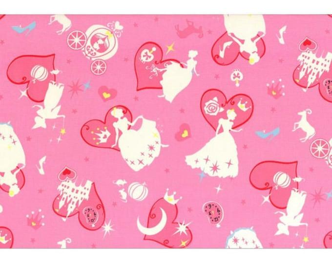 Girls Story Cinderella - Cinderella L54-20 Pink, Lecien of Japan, select a length