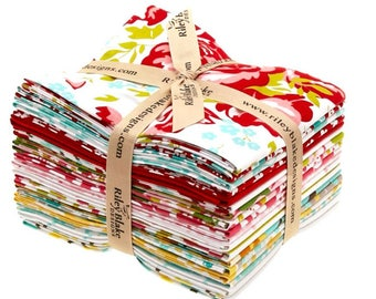 PrimRose Garden by Riley Blake Designs - quilting fabric bundle - 18 Fat Quarters