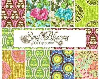 Soul Blossoms by Amy Butler - Fat quarter bundle of 8