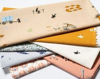 Charley Harper New Frontier organic fabric bundle, 10 fat quarters