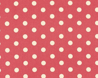 HOME DECOR Petal by Tanya Whelan - French Dots HDTW058 Rose - by the yard